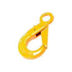 Grade 80 Alloy Steel Eye Type Self Locking Hook - Component Size - 7/8mm