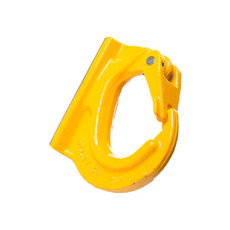 Grade 80 Alloy Steel Excavator Hook with Safety Latch (weld on) - EXCAVATOR HOOK W.L.L - 3T