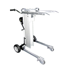 180KG Manual Material Lifter with Forks - 3.75 Meters