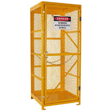 "Gas Cylinder Storage Cage - 9 x ""G"" Cylinders"