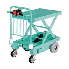 CLEARANCE Powered Trolley Cart with Electric Lift - HG109
