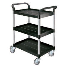 Triple Deck Service Trolley Cart - HS808A / LA