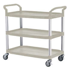Triple Deck Service Trolley Cart - HS808LAG