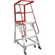 4 Step Order Picker Ladder Monstar - 150kg rated - 1.11m