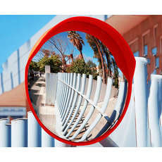 Convex Outdoor Safety Mirror - 450mm