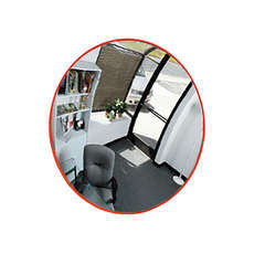 Convex Indoor Safety Mirror - 600mm