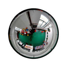 Convex Indoor Dome Safety Mirror - 700mm
