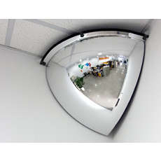 Convex Indoor Quarter Dome Safety Mirror - 800mm
