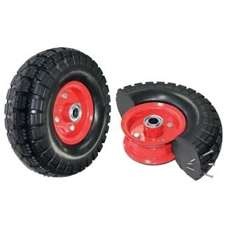 3/4 inch Bearing Semi Pneumatic - Puncture Proof Wheel
