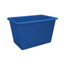 500L Plastic Poly Tank - 1100 x 720 x 740mm - Blue