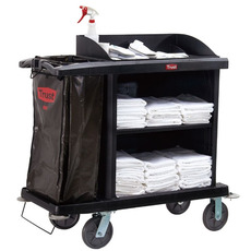 GRANDMAID Cruise Housekeeping Cart 102.4cm x 51cm x 109cm