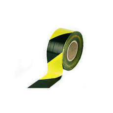 Safety Tape Black/Yellow Tape