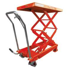 700KG Double Scissor Lift Table - Manual