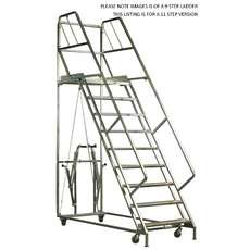 Mobile Platform Step Ladders - Steps - 11