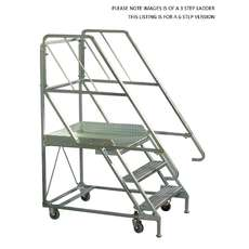 Mobile Platform Step Ladders - Steps - 6