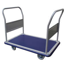 300kg Rated Platform Trolley - Double Handle