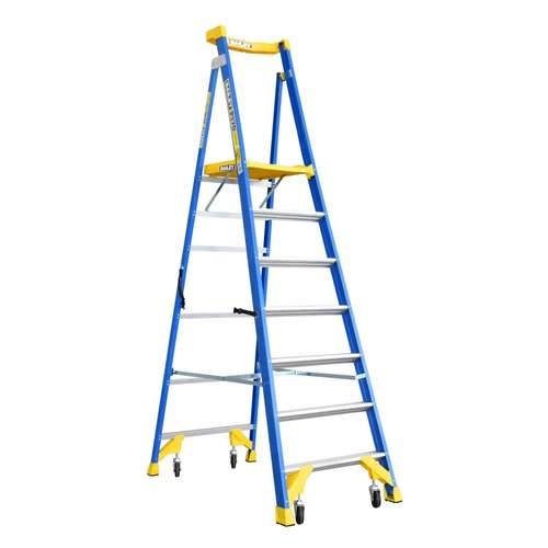 Bailey 7 Step Fibreglass Platform Ladder 2.03 m