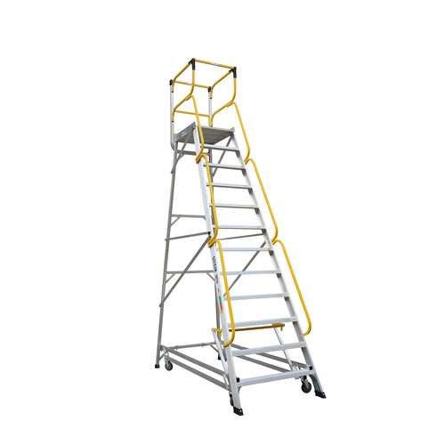 Bailey 12 Step Deluxe Order Picker Ladder 170Kg - 3.31m