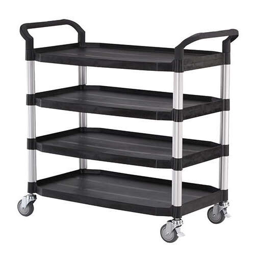 Quad Deck Service Trolley Cart - HS808LI