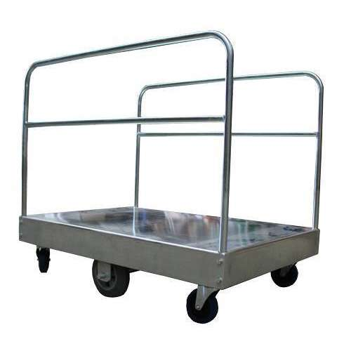 Galvanised Bulk Goods Platform Trolley