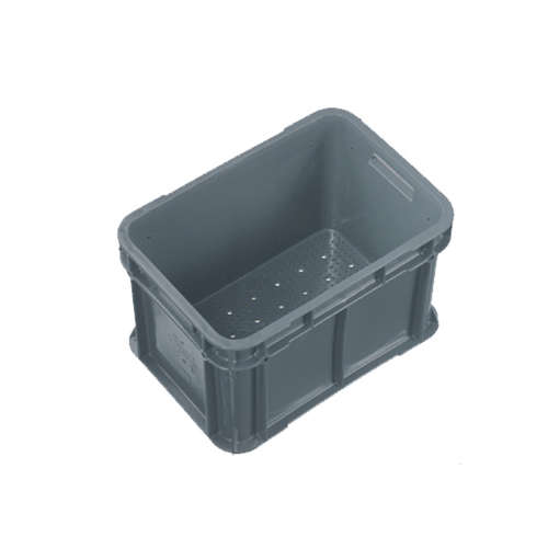 20L Plastic Crate Vented Stack And Nest 400 X 280 X 245Mm Ih017