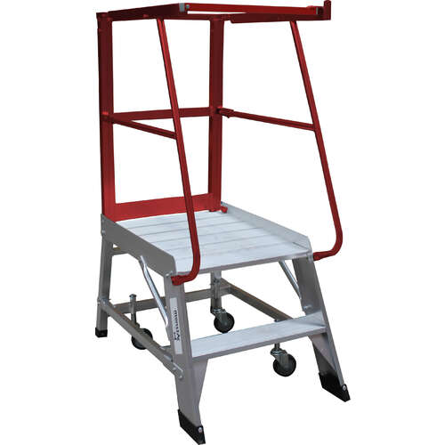 2 Step Order Picker Ladder Monstar - 150kg rated - 0.57m