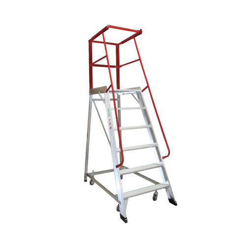 6 Step Order Picker Ladder Monstar - 150kg rated - 1.66m
