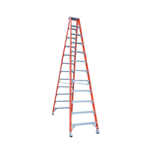 Indalex 12 Step Fibreglass Double Sided Step Ladder - Ladder Height - 3.70 m