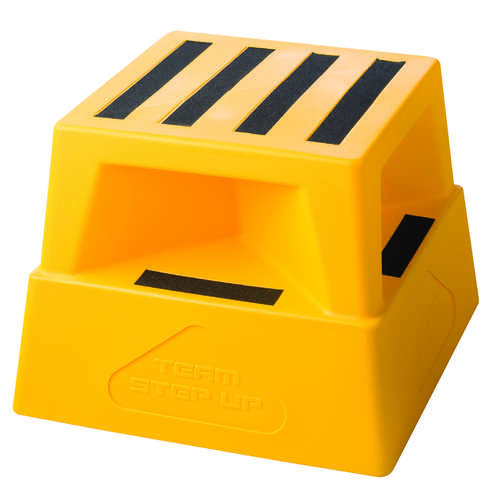 180KG Safety Step Stool - Yellow