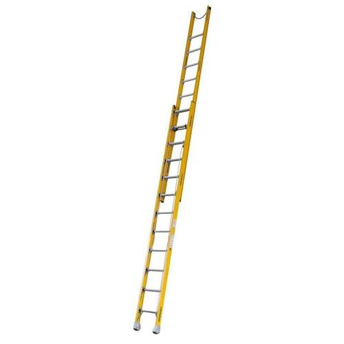 Indalex Fibreglass Extension Ladder - 5.2m to 8.9m