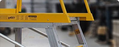 How to Choose an Industrial Ladder for Your Warehouse