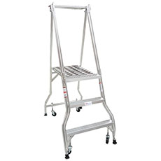 Industrial Platform Ladder
