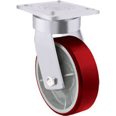 Kingpinless Extra Heavy Duty Castors